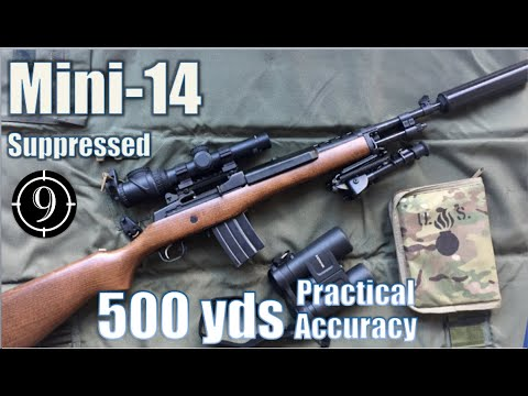 Pushing out to 500 yards with the Ruger Mini-14 (VIDEO)