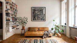 Tour Beautiful Scandinavian Apartment With Boho Touch | Interior Design