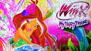 WINX Club Jigsaw Puzzle Games Clementoni Rompecabezas Play Kids Toys Learning Activities