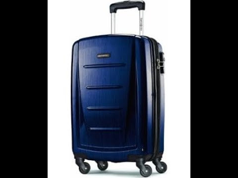 Samsonite Winfield 2 Suitcase Opening and Review