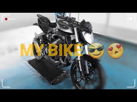 MEIN BIKE!! - Polizei - MotoVlog #2 - Yamaha MT