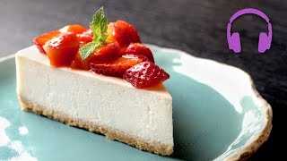 No-Bake Cheesecake   ASMR Cooking Sounds 4K