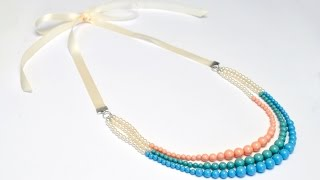 How To: Finish Ribbon Jewellery
