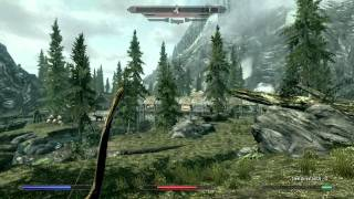 Skyrim Real Dragon Fighting Music Metal Version  (Mod)