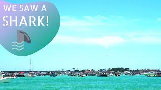 Crab Island // Destin, FL // We Saw A SHARK!!!