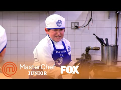 Reid Burns The Steak | Season 7 Ep. 12 | MASTERCHEF JUNIOR