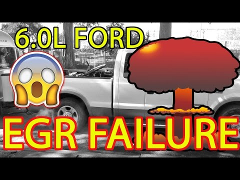 RAW FOOTAGE Of A FORD F250 6.0L EGR FAILURE (The Day SEEMORE Died!) Mp3