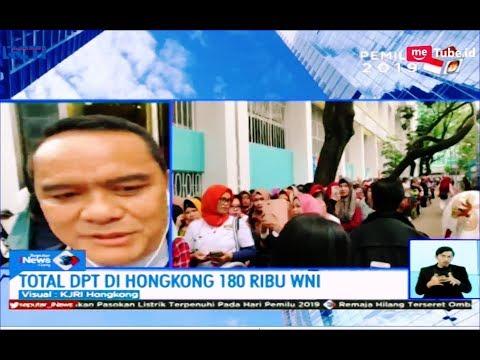 Berlangsung Lancar, 180 Ribu WNI di Hongkong Antusias Mencoblos - SIS 14/04
