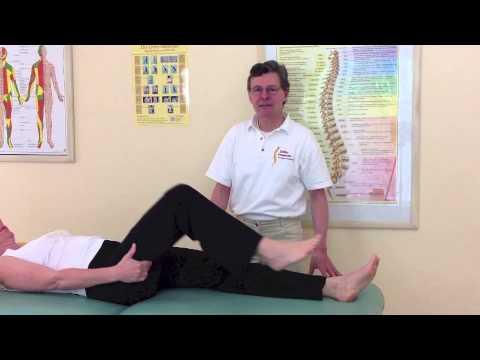 Die Rückenschmerz sedalischtschnyj der Nerv