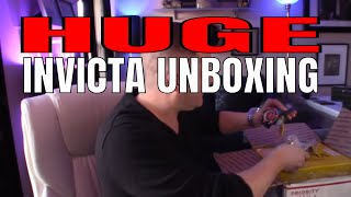 Huge Invicta Watches Unboxing! : 25 Days Of Invicta! : Invicta Watches Review