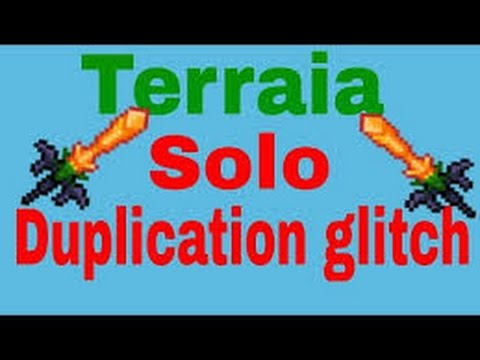 🥇 How to do the item duplication glitch on Terraria iOS