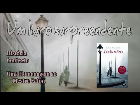 📖 UM LIVRO SURPREENDENTE . . . ( A SOMBRA DO VENTO ) de Carlos Ruiz Zafón !!!