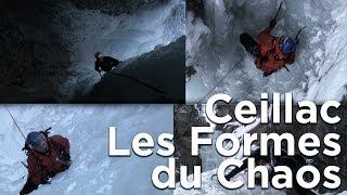 Les Formes du Chaos Ceillac cascade de glace montagne alpinisme