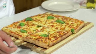 Reteta aluat de pizza si pizza Margherita | Bucataras TV
