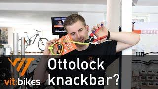 Ottolock in 2 Sekunden knackbar? Wir pobieren es aus!