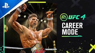 PlayStation UFC 4 - Official Career Mode Trailer | PS4 anuncio