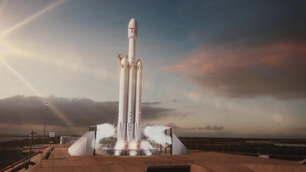 spacex falcon heavy rocket - 1000×563