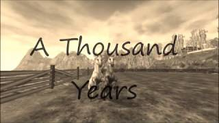 -Star Stable- Music Video - A Thousand Years - Video Youtube