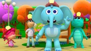 Los Bomberos Van de Prisa - Canciones del Zoo 5 | El Reino Infantil