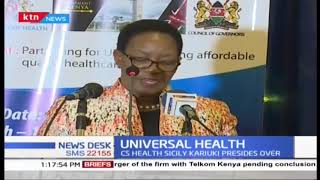The Kenya health forum 2019 addresses universal healthcare in the country