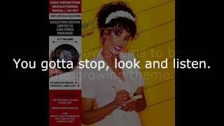 "Donna Summer - Stop, Look and Listen (12"" Maxi) LYRICS SHM ""She Works Hard for the Money"""