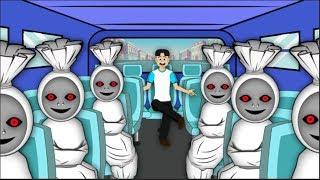 Bus Hantu - Kartun Horor Pocong
