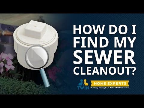 How Do I Find My Sewer Cleanout?