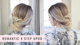 Romantic 4 Step Updo 💁🏼♀️ By SweetHearts Hair
