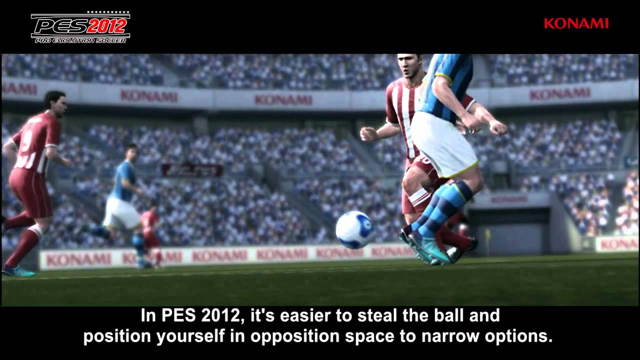 Your First Look At Pro Evolution Soccer 2012