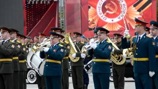 9 мая 2016 Парад Победы в Новосибирске. Часть 1. HD