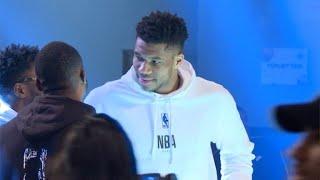 NBA-Premiere in Paris: Riesen Rummel um Superstar Antetokounmpo