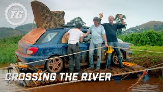 Crossing the river | Top Gear Africa Special | Series 19 | BBC