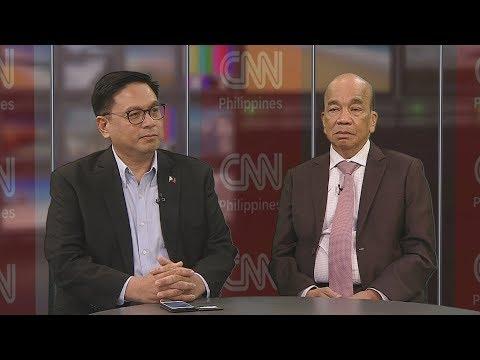 The Source: Ruffy Biazon and Elpidio Barzaga Jr.