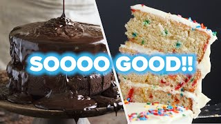 6 Sinfully Delicious Cake Recipes • Tasty