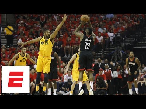 James Harden powers the Houston Rockets to Game 1 victory over Utah Jazz | ESPN