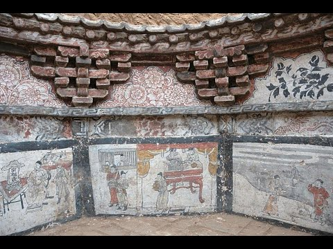 Ancient Octagon-shaped Tomb Reveals Morbid Tales From Mongol-ruled China