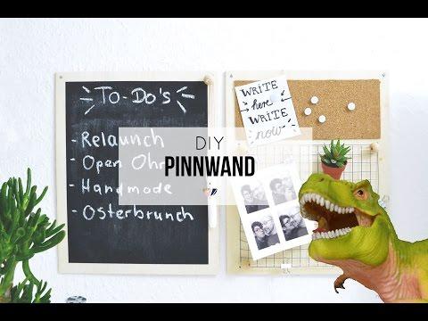 Pinnwand DIY | Pinnwand selber machen: Eine Anleitung für Anfänger