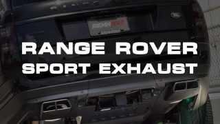 RENNtech Range Rover Performance & Sport Exhaust