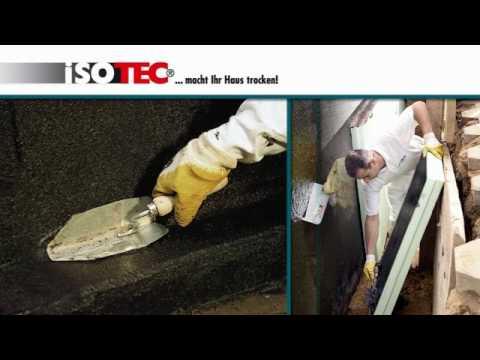 ISOTEC-Außenabdichtung - gegen seitlich eindringende Feuchtigkeit