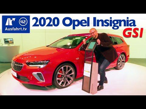 2020 Opel Insignia GSI Facelift, Weltpremiere, Debut, Sitzprobe, kein Test