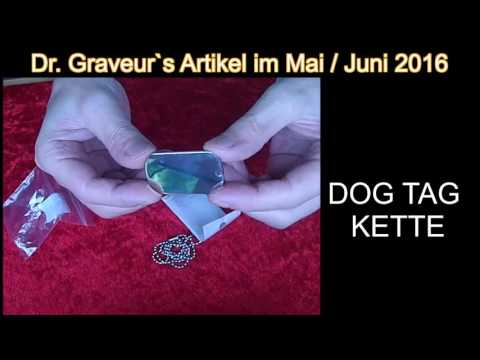 Dr Graveurs Angebot DOG TAG KETTE Vorstellung