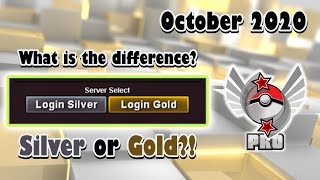 SILVER OR GOLD - Which server is the best?! [Pokemon Revolution Online]