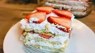 easy strawberry icebox cake recipe