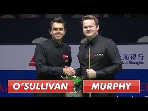 O'Sullivan vs Murphy | Shanghai Snooker 2019 Full Final S1 | 50 fps