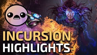THE SEARCH FOR STORMFIRE CONTINUES! - SSFHC Path of Exile Incursion RaizQT Highlights