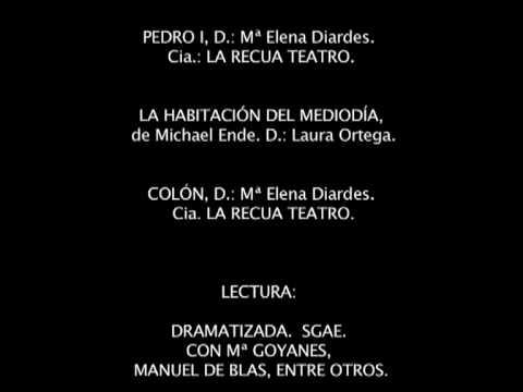 SONIA  DE LA A. VIDEOBOOK