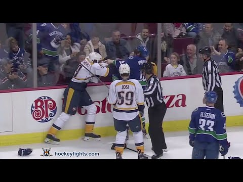 Filip Forsberg vs Jake Virtanen