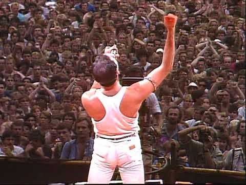 34 years ago today, Freddie Mercury conquered the world in twenty magical minutes.