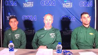 2018 CCAA MSOC | CPP Post Game Presser (11/2/18)