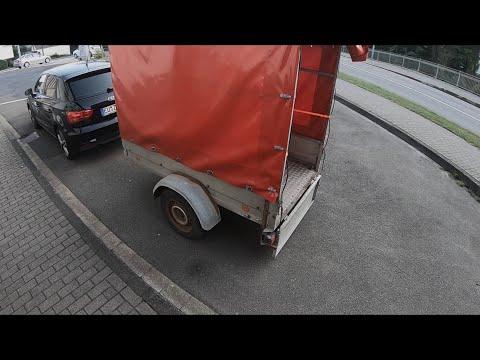 PKW Anhänger (bis 750kg) benutzen ankuppeln, fahren und abkuppeln Audi A1/S1 Sportback Anleitung